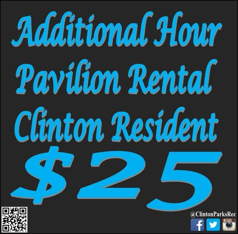 Additional Hour Pavilion Rental - Resident